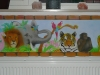 jungle airbrush muur