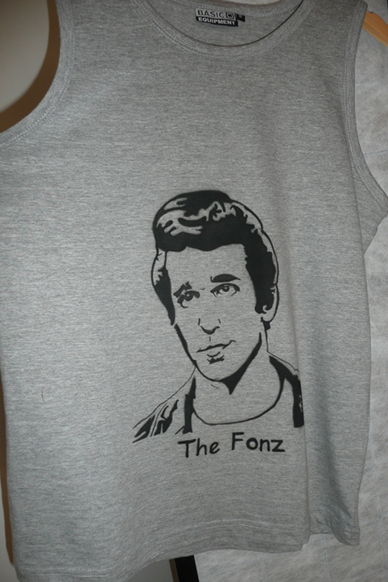 The Fonz airbrush t-shirt