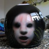 Scary airbrush helm a la Stephan