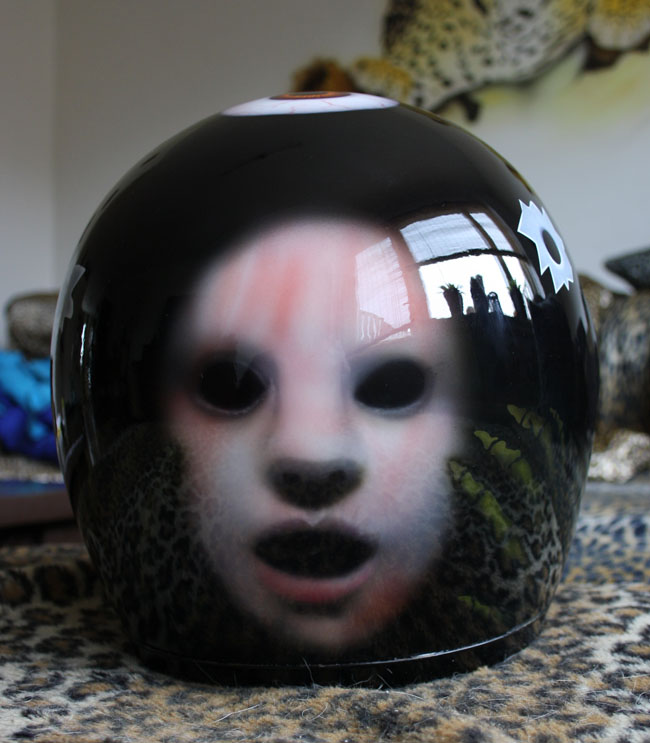 Scary helm
